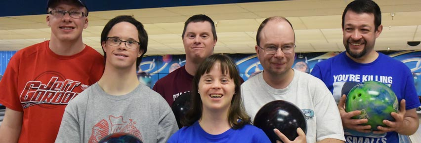 NWCSRA bowlers at our Spare Me program on Monday evenings.